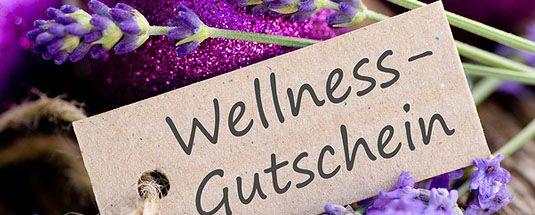 Geschenkidee: Gutschein für Wellness-Wochenende