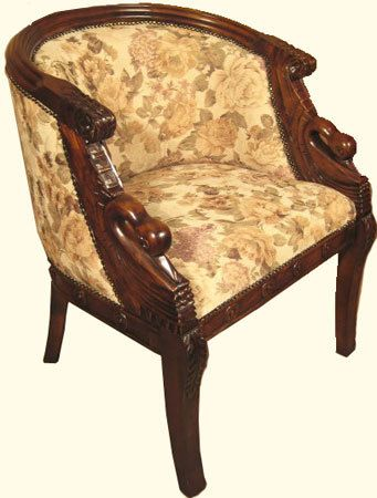 Chairs Asian mahogany