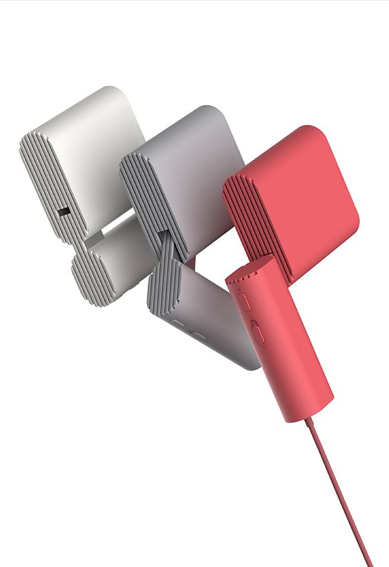 Squared Dryer / Hair Dryer / 2017 / Product Design / JiyounKim Studio / www.jiyounkim.com