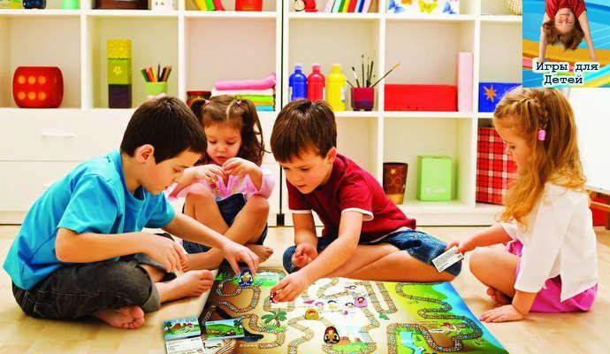 Настольные игры для детей в детском саду