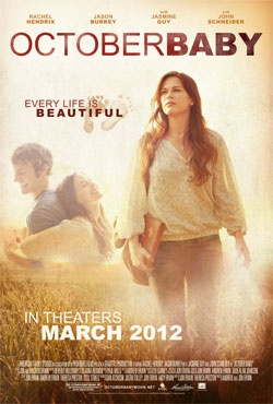 October Baby - DVD | Every life is beautiful! | In Theaters on March 23! | Check out this powerful pro-life movie - CLICK to watch the trailer.