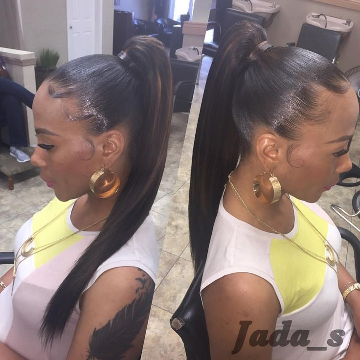 Flawless ponytail !!!  TEXT ONLY TO BOOK !!