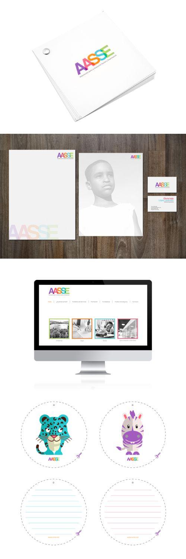 AASSE /  www.estudio201.com Diseño de Identidad: logotipo, papelería, página web, brochure, cartillas. Dirección artística: composición de piezas gráficas.