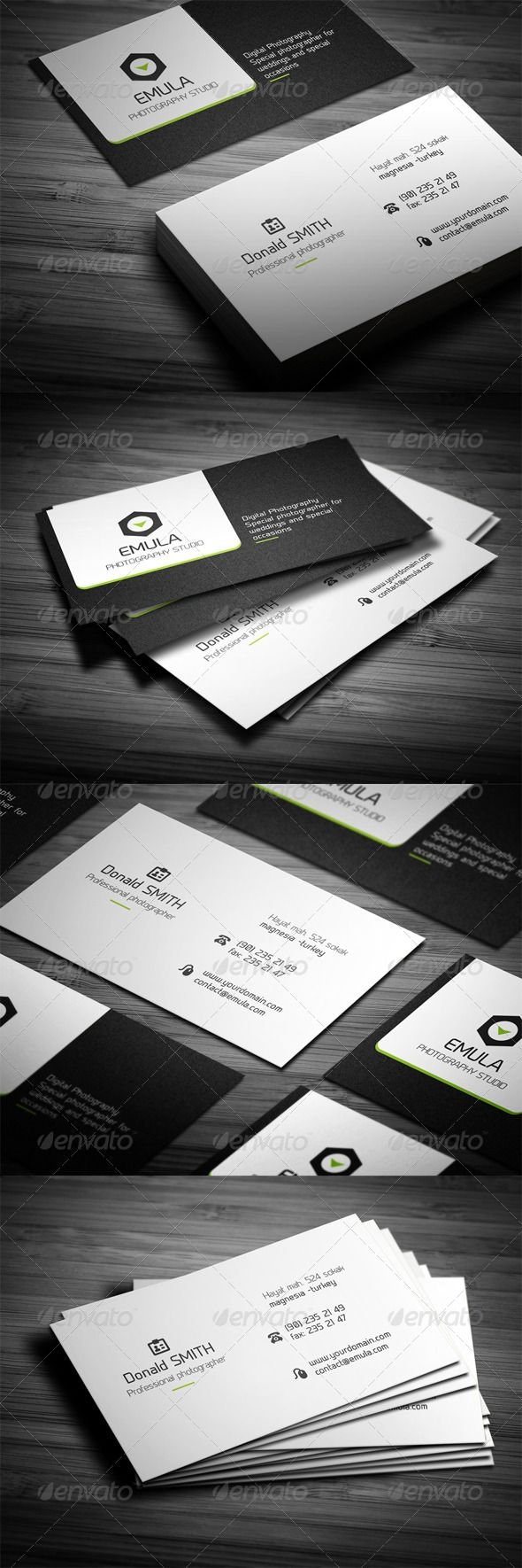 8 best Photographers, Photography Studios Business Cards images on ...