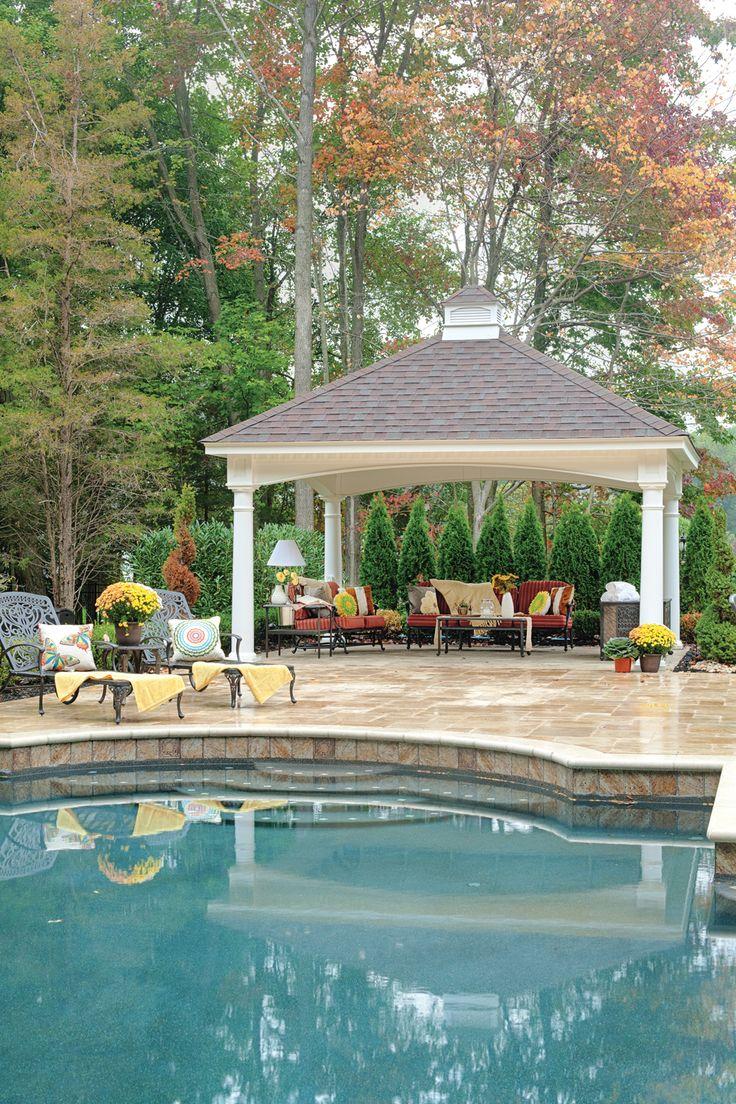 67 best gazebos pergolas pavilions by kloter farms for Pool pavilion designs