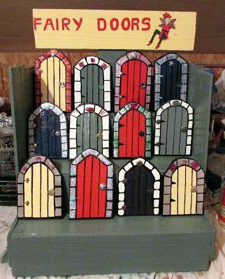 Fairy doors fairy gardens fairy wall art new fairy for Fairy door wall art