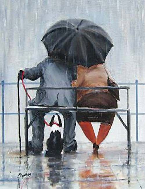 Des Brophy – dancing in the rain | In Search of Inspiration