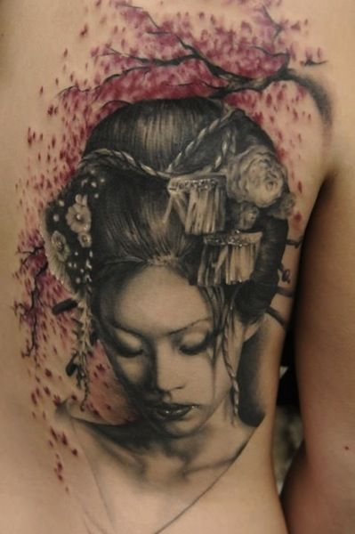 japanese geisha tattoo - Google keresés