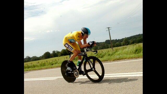 Bradley Wiggins time trial