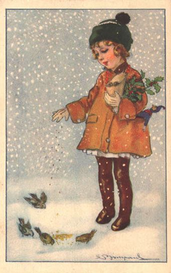 Χριστουγεννιάτικες κάρτες του Sergio Bompard      Eίναι Χριστουγεννιάτικες-Πρωτοχρονιάτικες κάρτες art nouveau, κυρίως της δεκαετίας του ...
