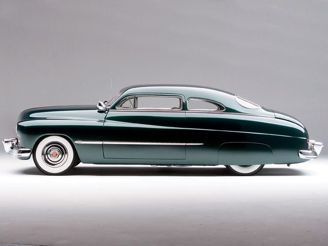 1949 Mercury Coupe Sam Barris Merc. My brother used to have mercury's...he would chop their tops, lower them, put skirts and whitewalls...and a visor!!!! Oh yes..and glass packs...loud purring mufflers!