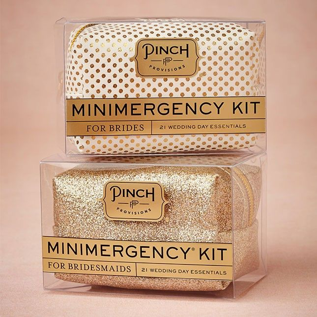 Pinch's Minimergency Kits should be something that every bridesmaid carries around.