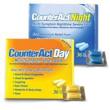 Medicine Cabinet - CounterAct is half the cost of Claritin and just as effective. MyMelaleucaBlog.wordpress.com