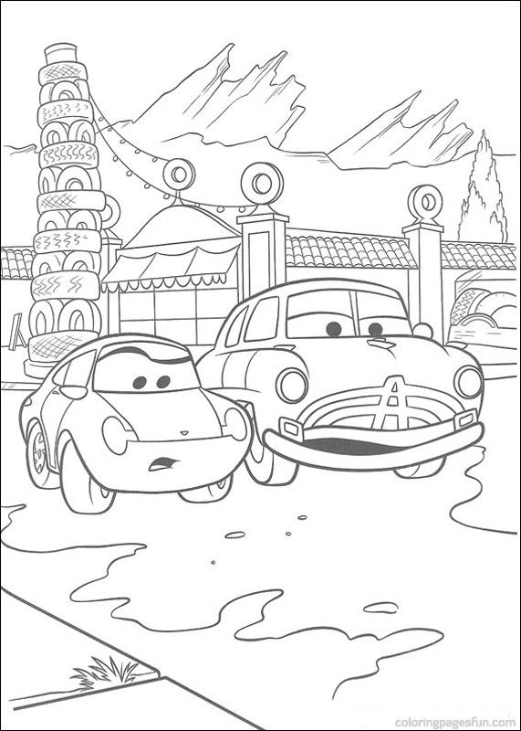 Disney Cars Printable Coloring Pages Disney Cars Coloring Pages