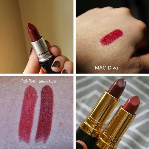 Best 25 mac lipstick dupes ideas on pinterest mac dupes - Mac diva lipstick price ...