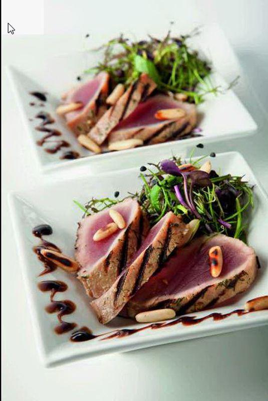 Gemarineerde tonijn met een fris slaatje - Het Nieuwsblad