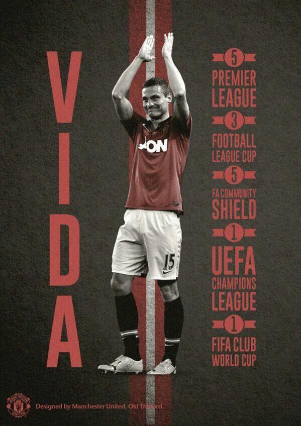 Twitter / MUFC_Malaysia: Nemanja Vidic makes his 300th ...