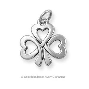 Love this...it almost matches my tattoo i have of a celtic love know.---James Avery - hearts entwined