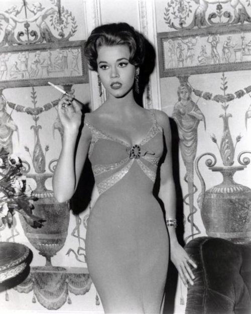 Hollywood Glamour, Jane Fonda, Old