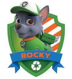 Divertido Mini Kit de Paw Patrol o Patrulla Canina Rocky para Imprimir Gratis.
