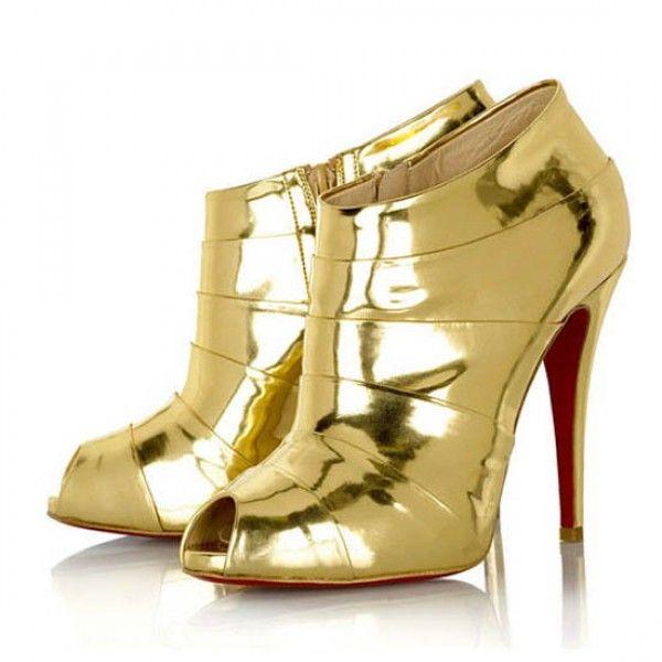 Roboter 120 Stiefeletten Metallic Golden Online-Verkauf sparen Sie bis zu 70% Rabatt, einfach einkaufen ferner versandkostenfrei.#shoes #womenstyle #heels #womenheels #womenshoes  #fashionheels #redheels #louboutin #louboutinheels #christanlouboutinshoes #louboutinworld