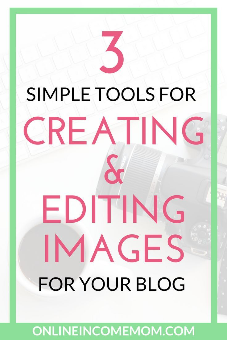 Use these 3 simple blog image creation tools to make your posts stand out on social media! via @keciahambrick