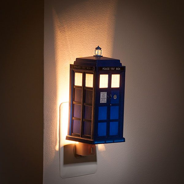 Doctor Who TARDIS Night Light The raggity doctor will save you from things that go bump in the night!