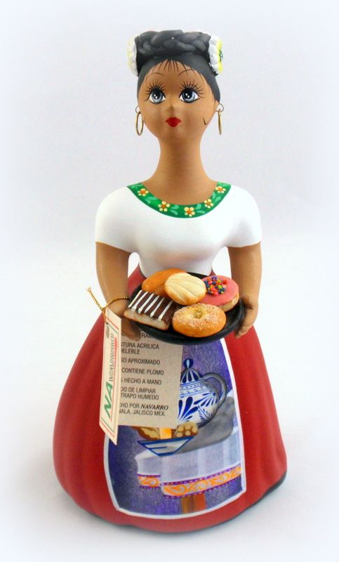 Lupita Original Mexican Doll by Navarro Sweets Hand Made & Painted