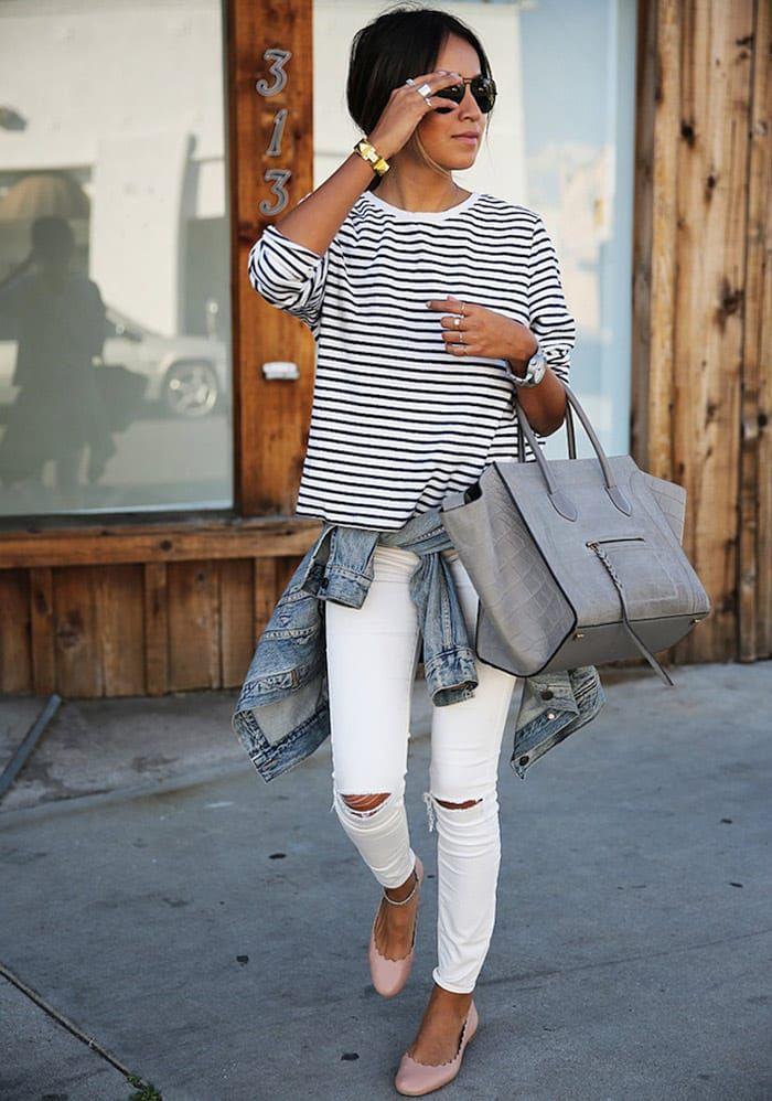 9fc00a88e Evita cometer estos simples errores con tus lindos pantalones blancos que  probablemente puedan llegar a arruinar todo tu look.