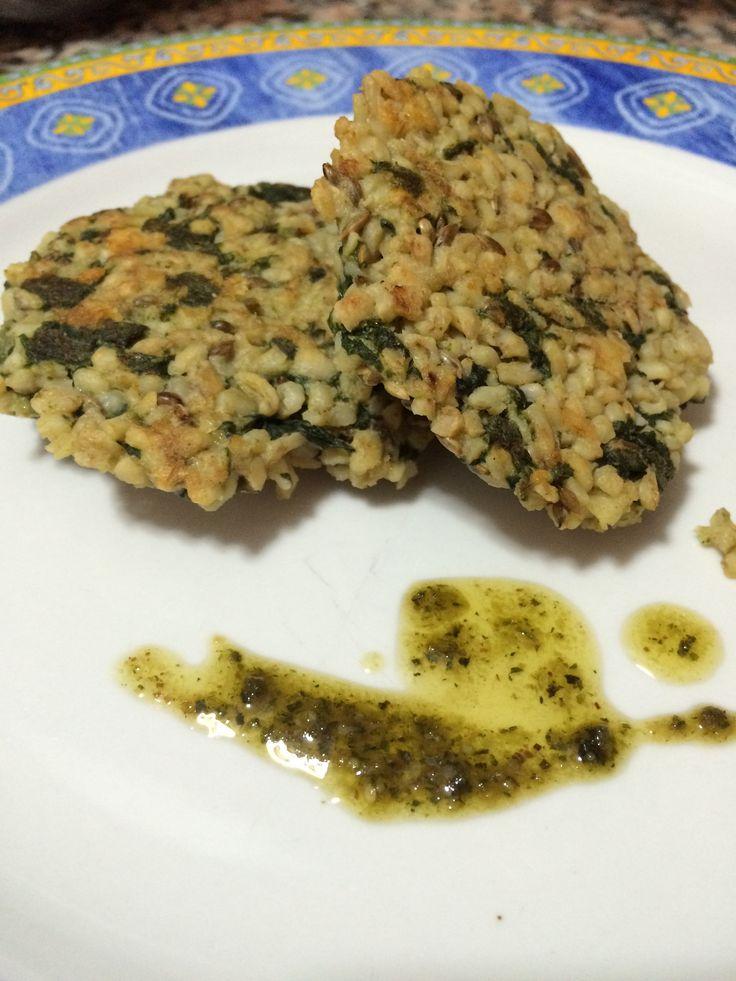 Hamburguesa vegetal \ vegetal burguer #sano #rico #cocinasana #quinoa #healthfood