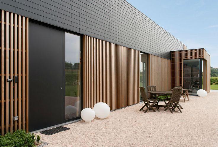 Léc, keskeny ablak Sito architecten| Ninove| Modern bouwen| Moderne woningen| Huis bouwen| Renovatie architect| Energiebewust architect