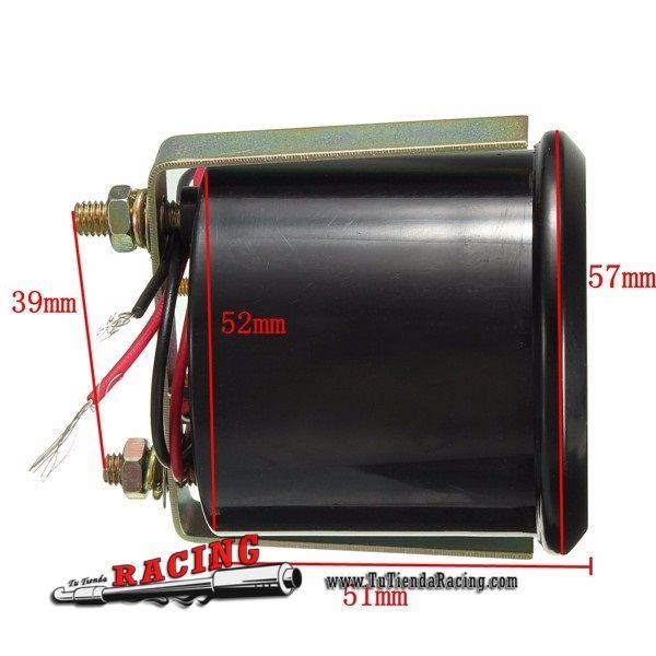 Marcador Dial Medidor de Temperatura de Aceite 40-120° 2'' 52mm para Coche Tuning Color Blanco - 12,44€ - TUTIENDARACING - ENVÍO GRATUITO EN TODAS TUS COMPRAS