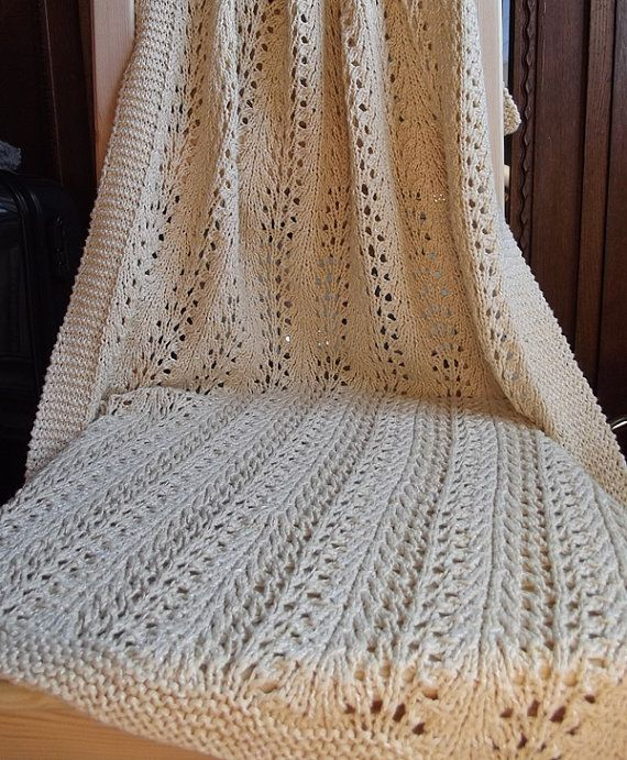Hand Knitted Baby Blanket