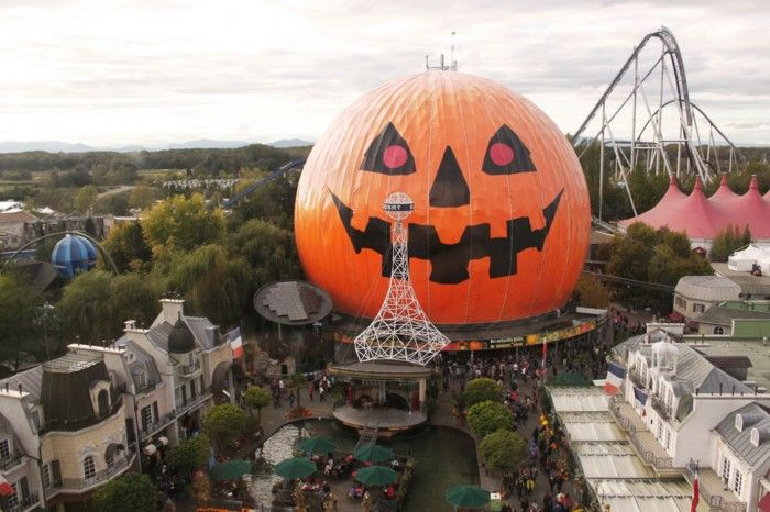 Halloween as a tradition In the Europa Park