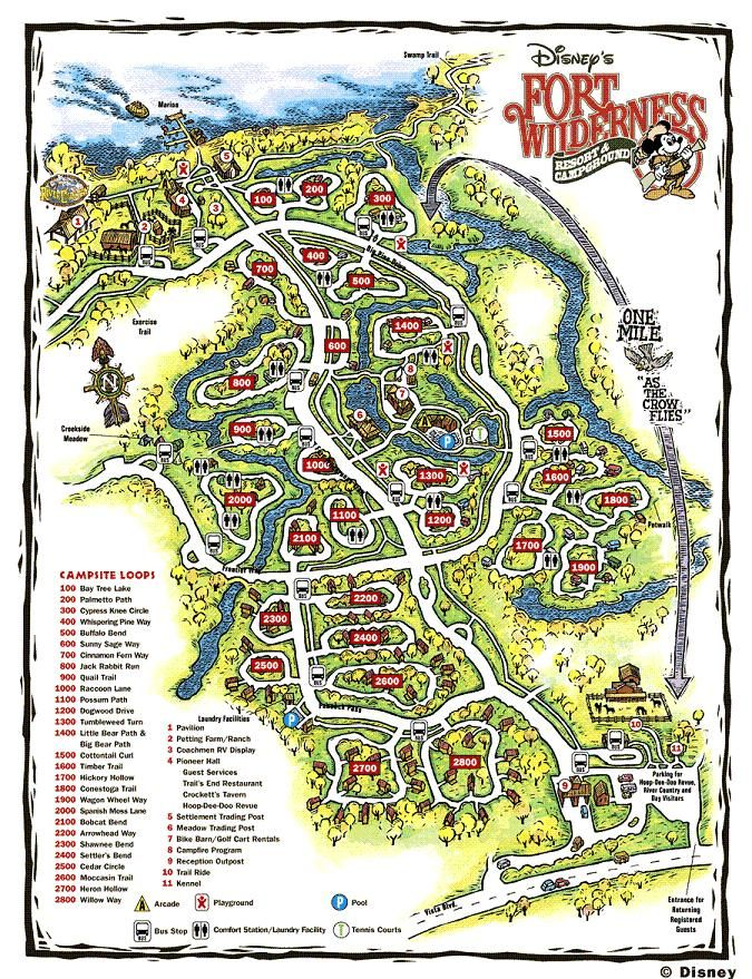 Review: The Campsites at Disney's Fort Wilderness Resort, Continued - The Walt Disney World Instruction Manual --yourfirstvisit.net