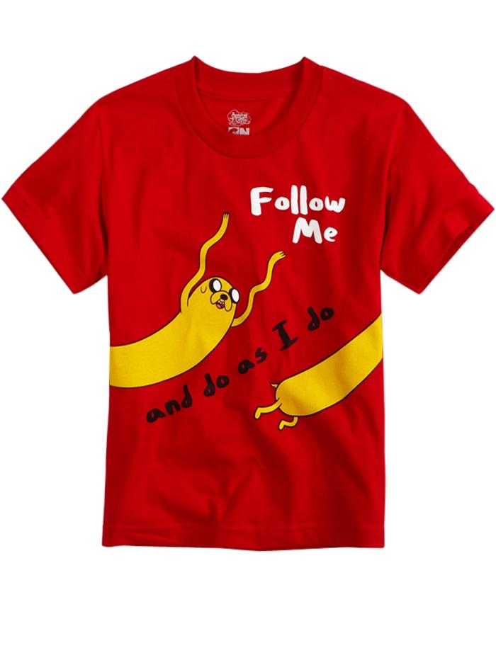 follow me and do as i do
