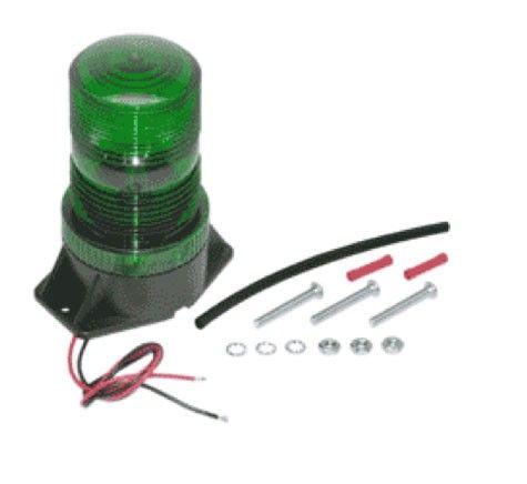 #ProductOfTheWeek LED Strobe Light - Green - 12-80V -High Profile  -Permanent Mount