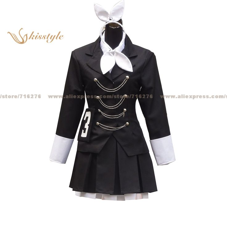 Kisstyle Fashion VOCALOID Hatsune Miku Secret Police Uniform COS Clothing Cosplay Costume,Customized Accepted #Affiliate