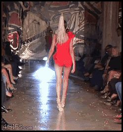 Fashion Show -- Cat Walk-- FaiL ... ROFL