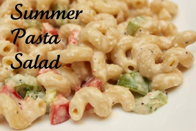 I love pasta salads