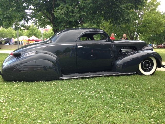 "One of a Kind Custom 1939 Chevrolet Coupe. When have you ever seen a ""39 Chevy like this? Probably never.... This Coupe has been sliced and diced and been given a blend of Old School Custom and Hotrod design."