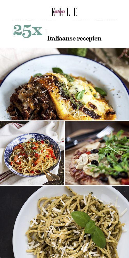 Italiaanse recepten   ELLE Eten