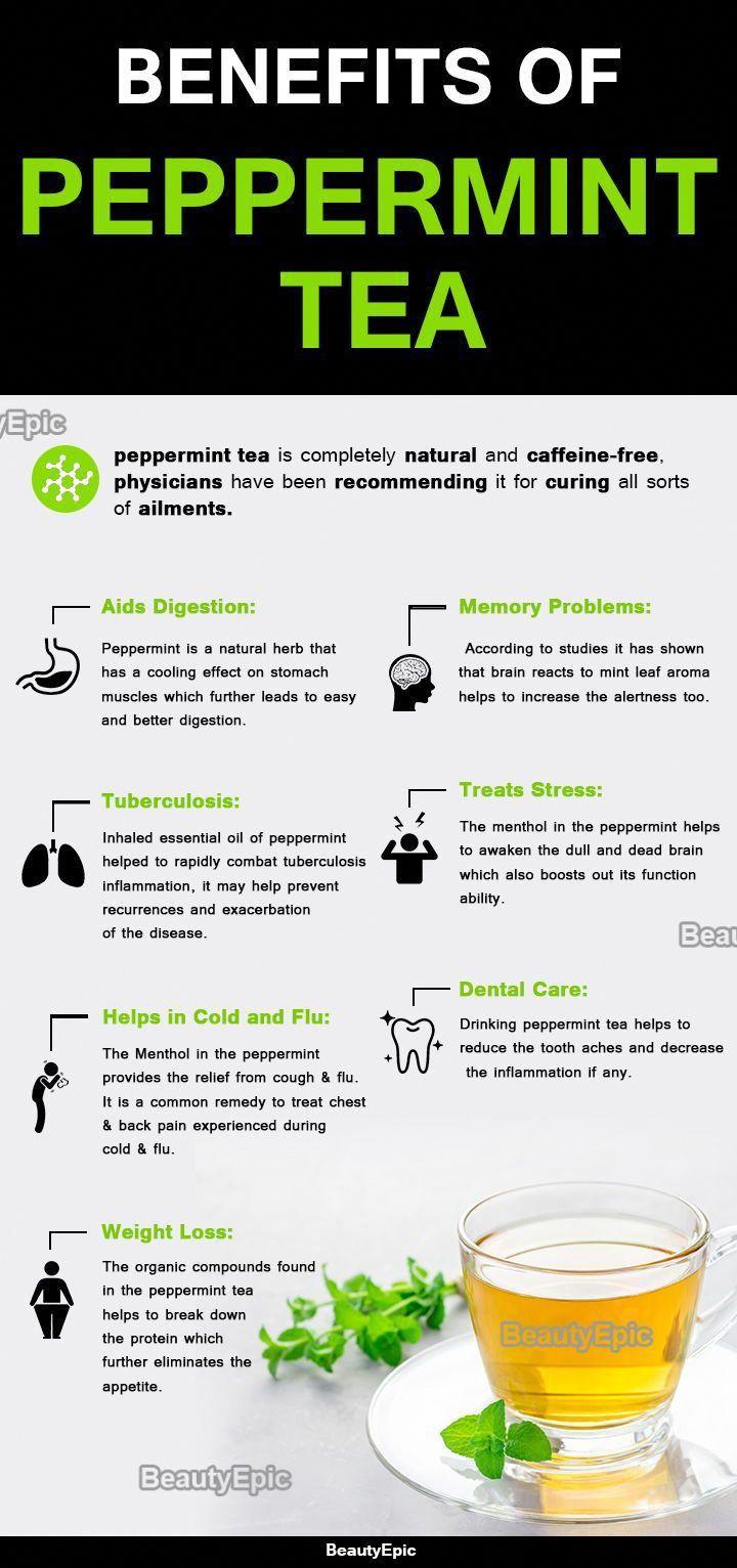 Benefits Of Peppermint Tea Coffeehealthtips Peppermint