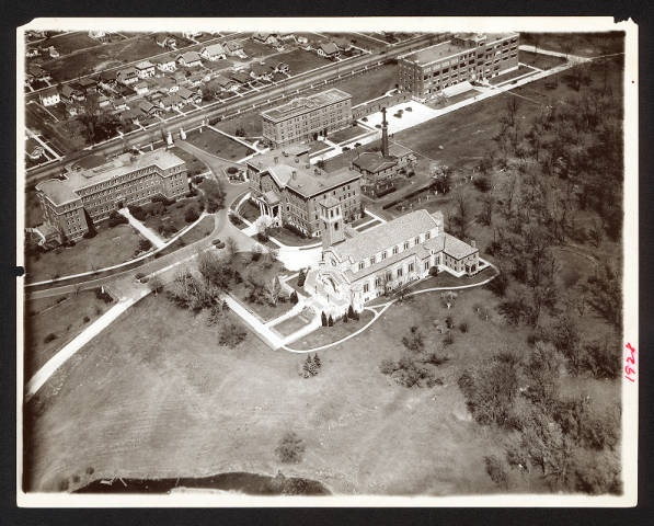 Aerial Photograph of the College of St. Catherine Campus, circa 1927