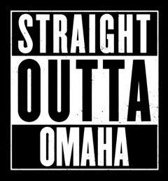 Our hottest #customtshirts right now Give us a call & order yours today: http://www.omahashirts.com #straightoutta #omaha