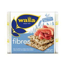 WASA - Pain croustillant riche en Fibres - 230 g - Auchan:Direct