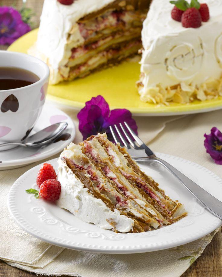 Exquisita torta de hojarasca