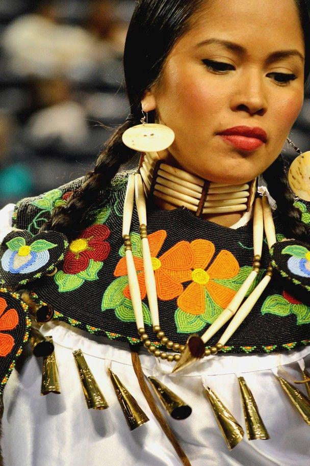 Sheena Cain-jingle dress dancer/model (Beautiful workmanship & proud dancer)
