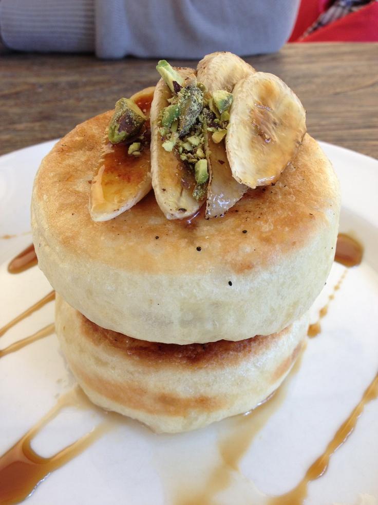 Korean pancakes for breakfast
