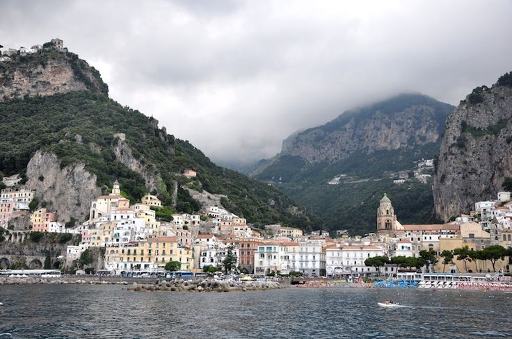 How to Get the Most Out of the Amalfi Coast. Get this view from the Amalfi coast boat, not the bus!